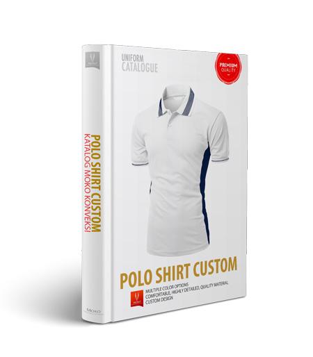 jual kaos berkerah / polo shirt custom online di moko konveksi semarang