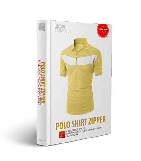 bikin kaos polo shirt zipper online di moko konveksi semarang